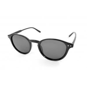 Polarized round sunglasses with 2 nails on the sides