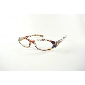 Lunettes de lecture oeil de chat imprimés colorés