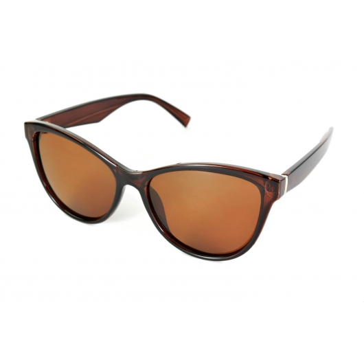 Female polarized sunglasses with butterfly shape