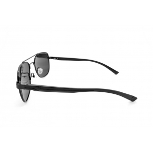 Gafas de sol polarizadas Piloto de metal con doble puente