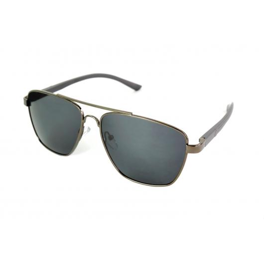 Gafas de sol polarizadas Petite Piloto de metal con dos pisos