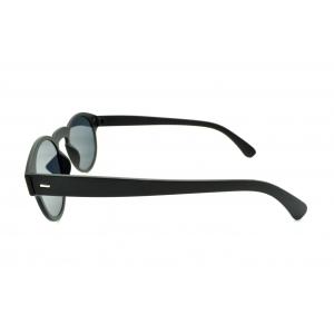 Gafas de sol polarizadas redondas con lentes planas