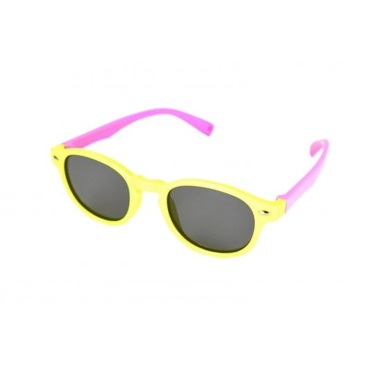 Gafas de sol polarizadas flexible niño pequeño redondo