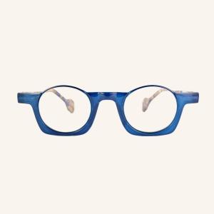 Gafas de lectura medio redondas medio cuadradas