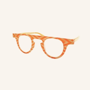Japanese round reading glasses