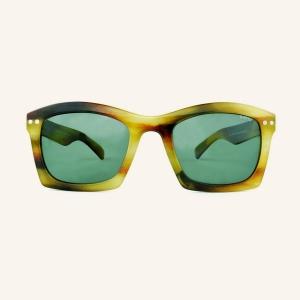 Gafas de sol polarizadas anchas con bordes rectangulares