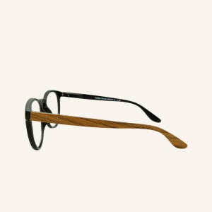 Gafas de lectura redondas retro