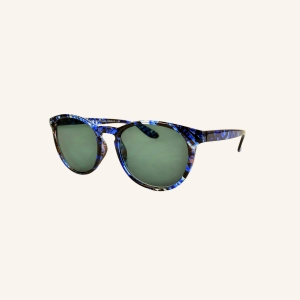 Round retro reading sunglasses