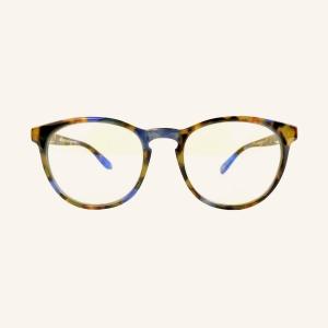 Gafas de lectura pantallas pantos con el puente en forma de ojo de cerradura y 2 clavos en los lados de la montura