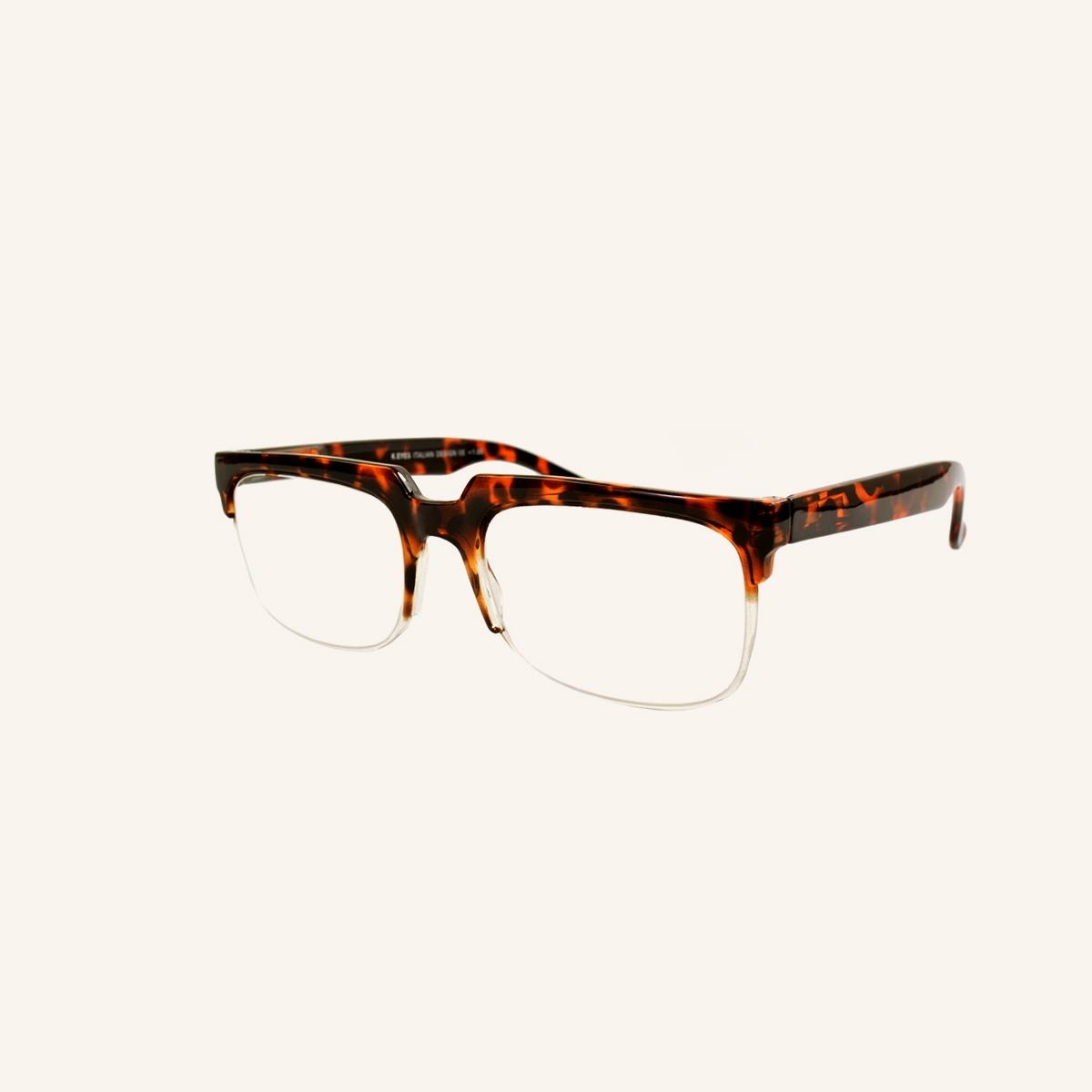 Retro eyebrow reading glasses