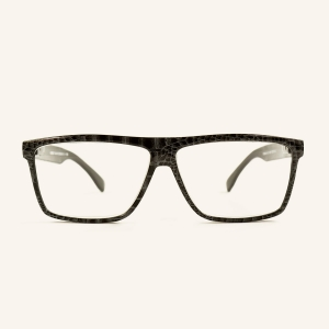 Large rectangular reading glasses retro shape