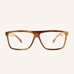 Large lunettes de lecture rectangulaire rétro