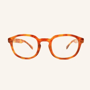 Round and squared reading glasses