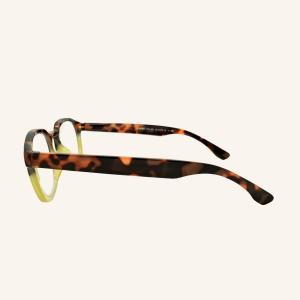 Gafas de lectura redonda y cuadrada