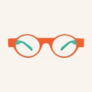 Geometric round reading glasses for Women and Men