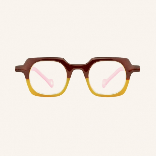 Geometric square reading glasses for Women and Men