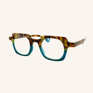 Geometric square reading glasses for Women and Men
