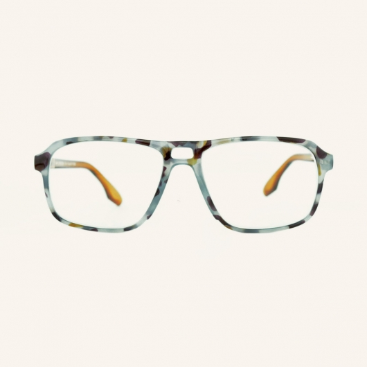 Rectangular pilot reading glasses for Men