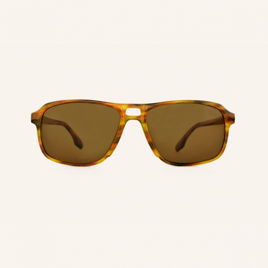 Polarized Pilot rectangular sunglasses for Men