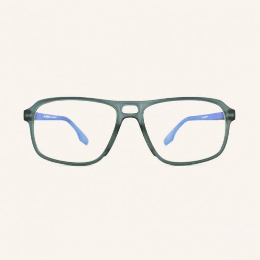 Rectangular Pilot screen eyeglasses for Men