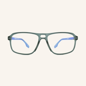 Rectangular Pilot screen eyeglasses for Men