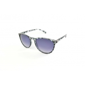 Grey tortoiseshell printed and butterfly shape sunglasses
