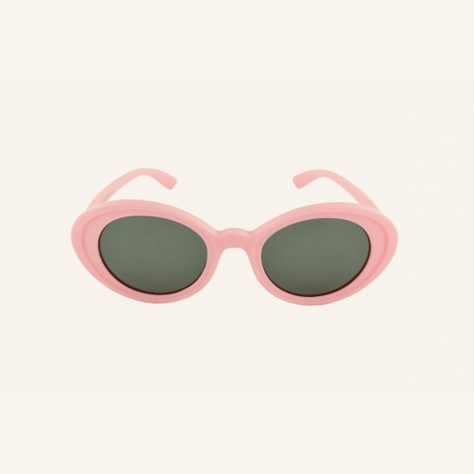 Flexible polarized sunglasses with butterfly shape for children