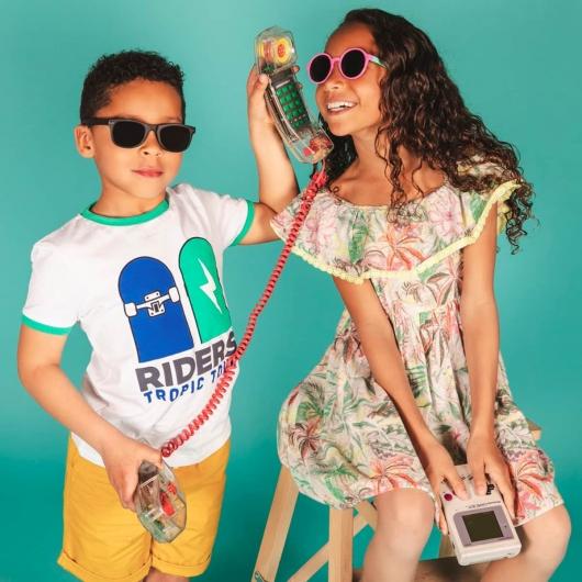 Gafas de sol para niños polarizadas y plegables Wayfarer