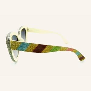 Oversized butterfly sunglasses