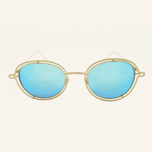Round sunglasses with ring Miami