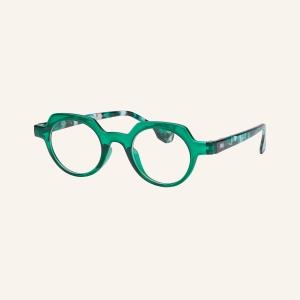 Geometric round reading glasses Lotti