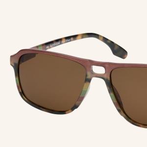 Polarized Pilot rectangular sunglasses for Men