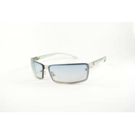Rectangular metal mask sunglasses