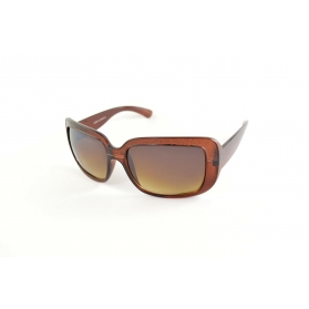 Large square sunglasses with sandblasted effect