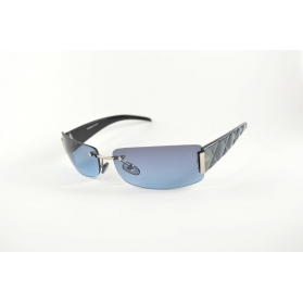 Invisible rectangular sunglasses with padded temples