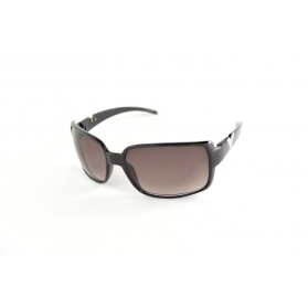 Large squared sunglasses with symbol