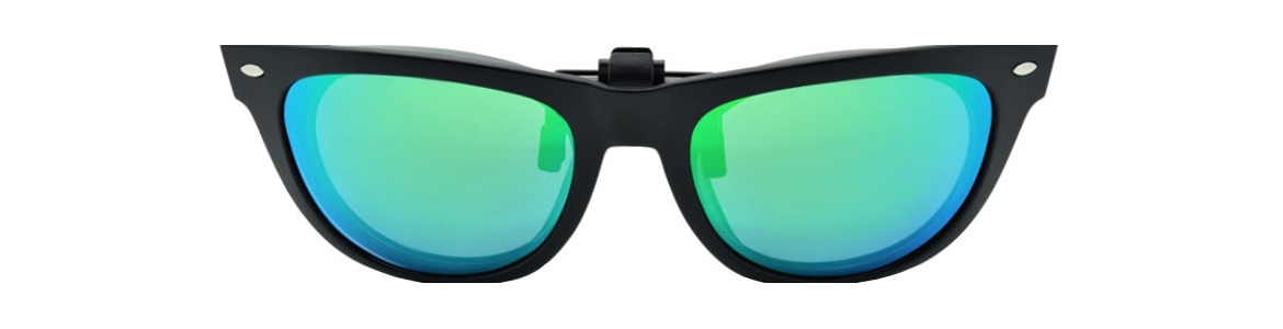 Polarized clip-on