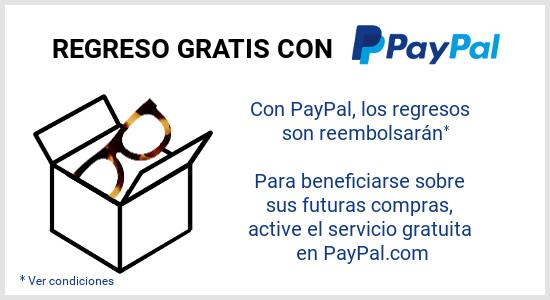 Devoluciones gratuitas PayPal